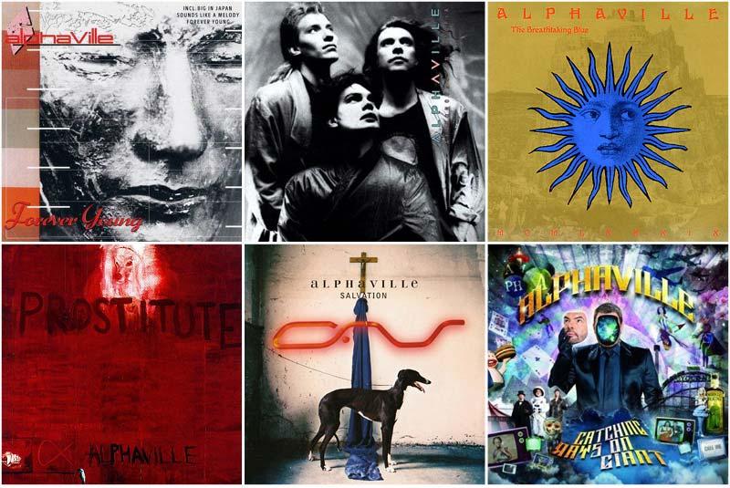 Alphaville Discography