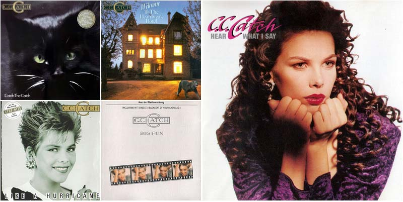 C.C.Catch Discography