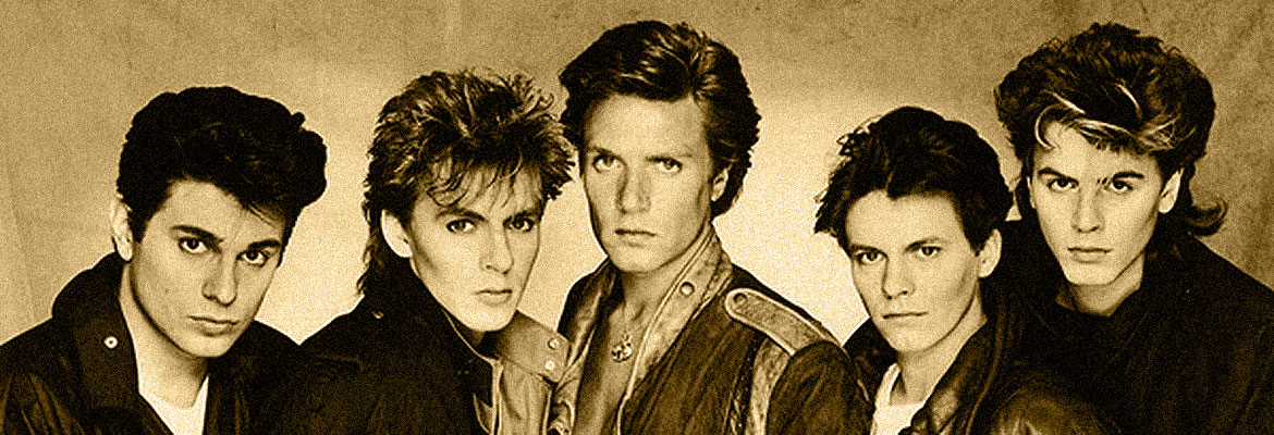 Duran Duran - Golden Hits - Listen to the famous hits of the eighties. Selection of 1980 - 1990 music - famous and almost forgotten videos + info about stars of the 80s music