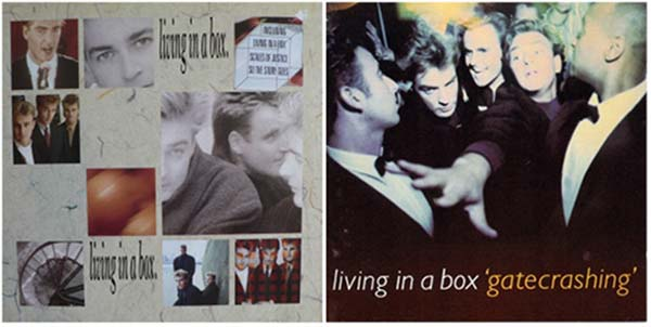 Living in a box 80s music band discography