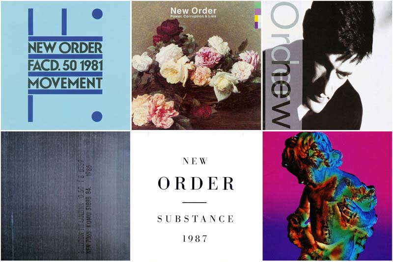 New Order Discography