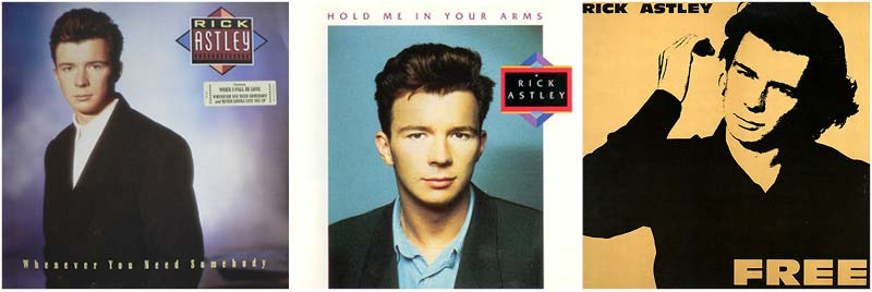 Rick Astley 80s Music Discography