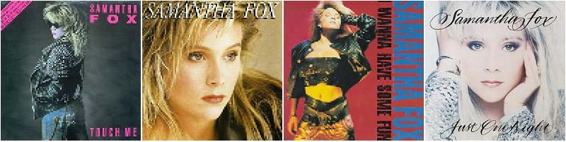 Samantha Fox Discography