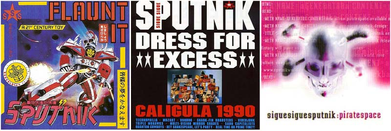 Sigue Sigue Sputnik Discography
