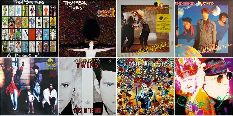 Thompson Twins 80s Music Discography