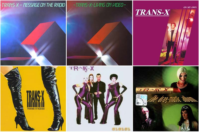 trans-x band discography