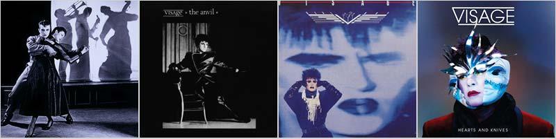 Visage 80s music Discography