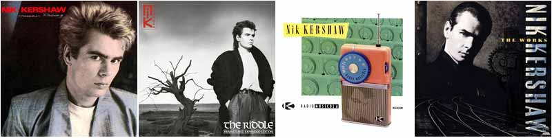 Nik Kershaw Discography
